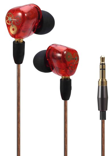 Promotional Dual Drive Earbuds with/ Without Mic Microphone (OG-EP228) pictures & photos