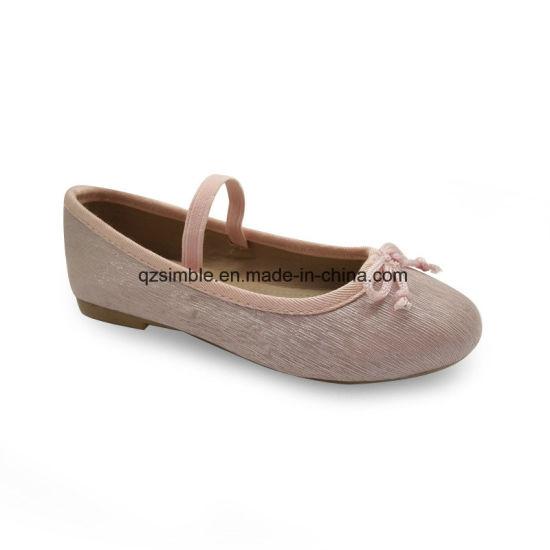 2017 Fashion Children PU Ballet Shoes for Walking