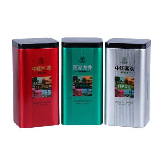 Airtight Tin Box for Tea Coffee Cocoa Nuts Sweets pictures & photos