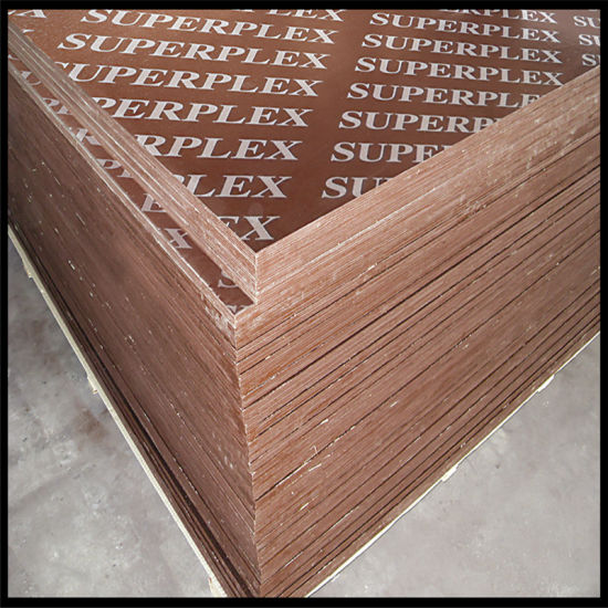 Concrete Plwood Used in Formwork pictures & photos