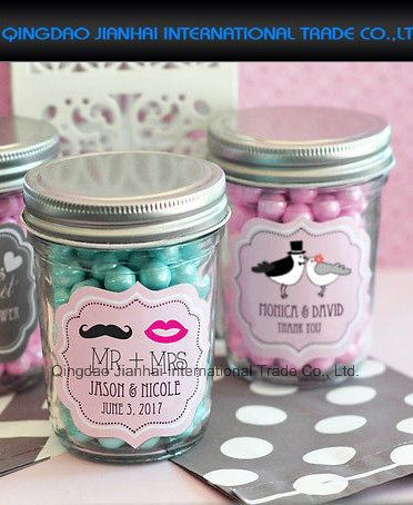 Personalized Printed Glass Mason Candy Jar Container pictures & photos