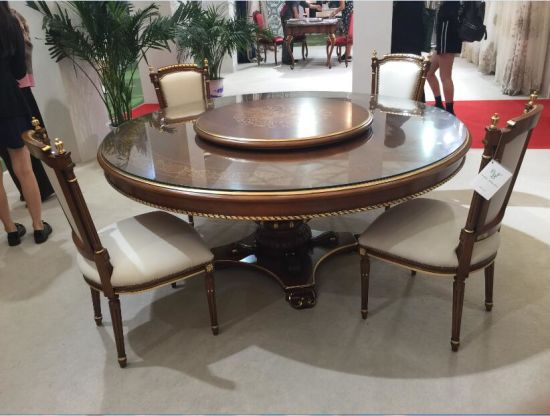 Hotel Furniture European Style Table And Chair Luxury Middle East Restaurant Dining Room Glpld 038