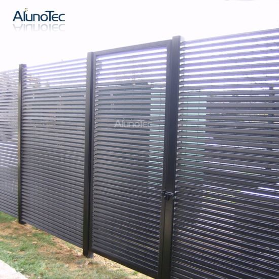Quality Chinese Balcony Louver Panel Screen Fence