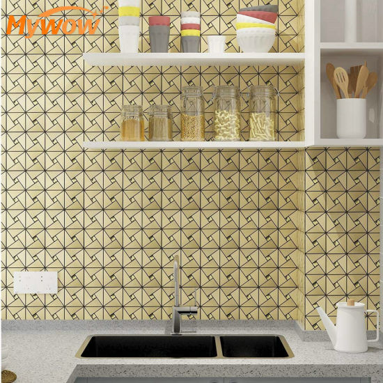 Peel and Stick Mosaic Tile Backsplash