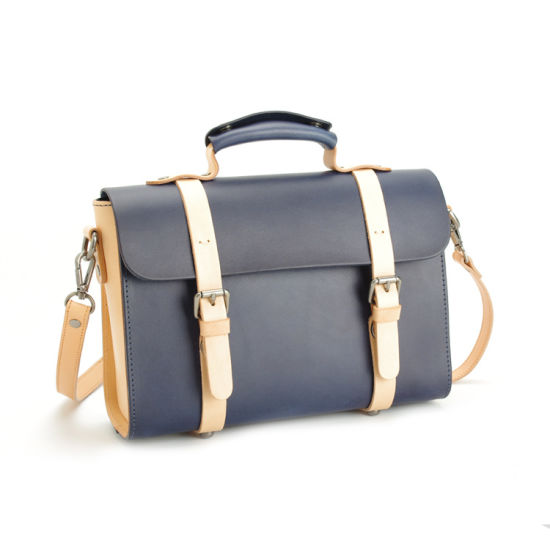 Newest Designer Handmade Leather Messenger Laptop Bags pictures & photos