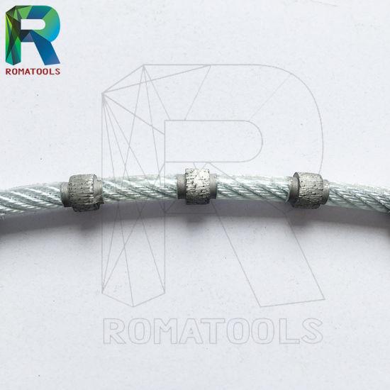 China Diamond Wire Saws for Quarry/Concrete/Stone Cutting - China ...