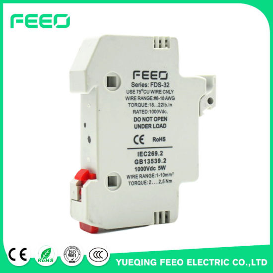 Direct Current 1000V 9A PV DC Fuse pictures & photos