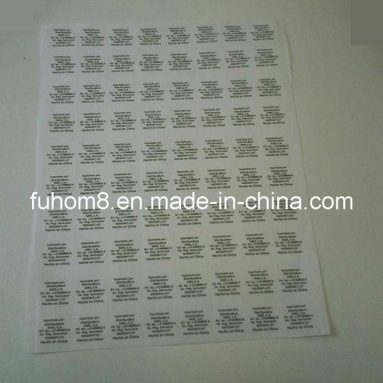 Garment Non-Woven Care Label for Printer