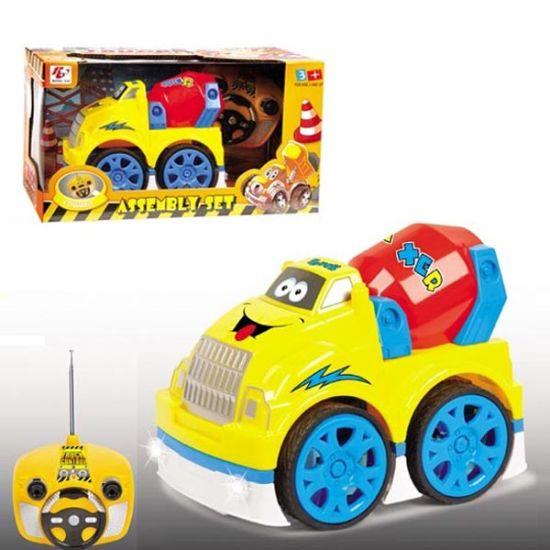 4 Channel Cartoon Plastic Model Toy R/C Car with Flashing Light & Music (10214049)