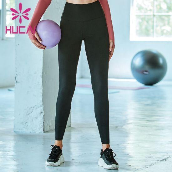 Women Yoga Gym Wear High Impact Sports High Waist Leggings