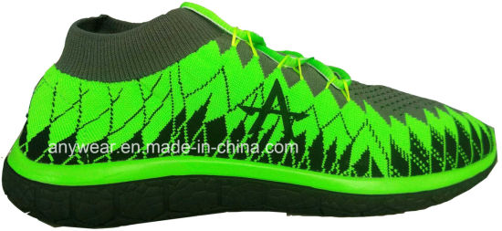 Men′s and women′s light flyknit running sneakers (816-7985) pictures & photos