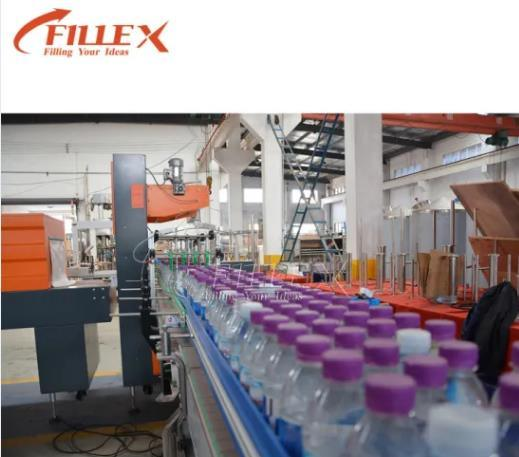 Conveyor Belt Production Line for Bottled Water Beverage Beer