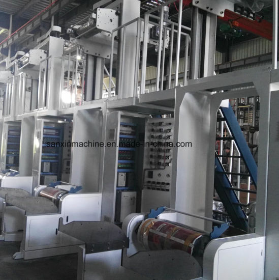ABA Double-Layer Common-Extruding Film Blowing Machine pictures & photos