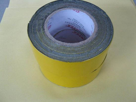 Butyl Underground Anticorrosion Pipe Wrap Tape, Self Adhesive Wrapping Bitumen Duct Tape, Polyethylene PE Waterproof Outer Tape