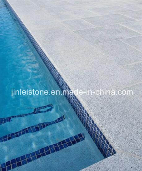 G603 Padang White Granite Flamed Swimming Pool Coping