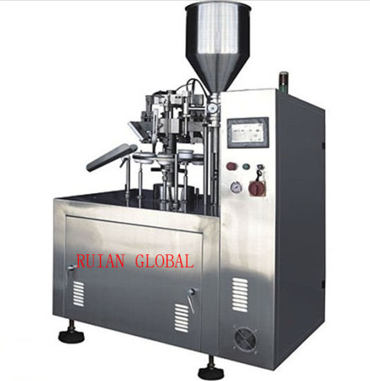 Semi Automatic Tube Fill and Seal Machine for Cosmetic Cream pictures & photos