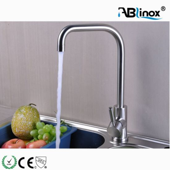 Stainless Steel Single Handle Touch Kitchen Sink Faucet