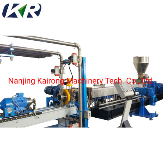 Twin Screw Extruder of Large Volume for Filling
