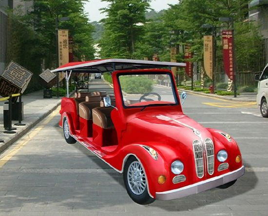 8 Passenger Electric Vintage Cart (Lt-S8. FB)