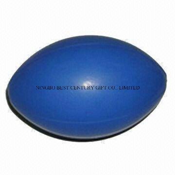 PU Foam Stress Ball English Style Rugby Ball Shape