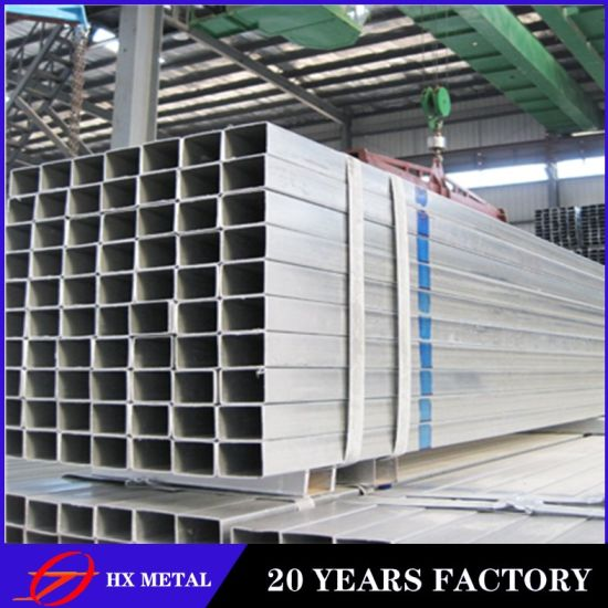 Galvanization Steel Pipe Manufacturer Galvanized Square Tube Pre Hot-Dipped Galvanized Steel Pipe Importer 30*30