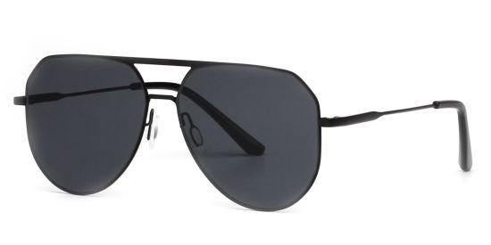 Classic Pilot Sunglasses Double Bridge Superlight Glasses Frame