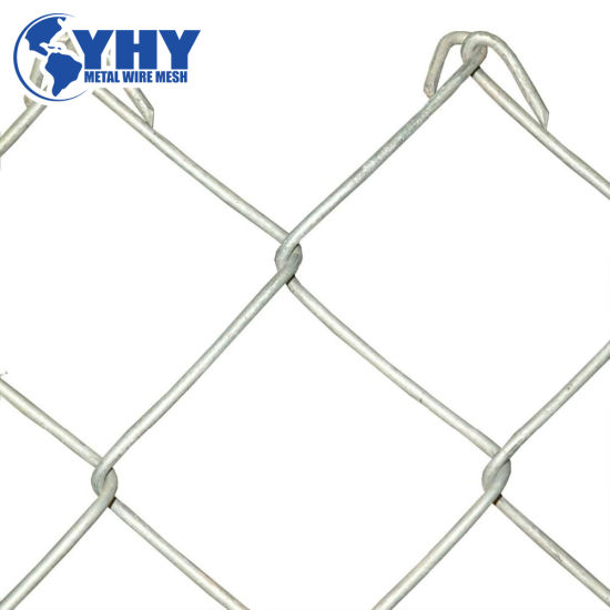 100mm Hole Size Woven Chain Link Wire Mine Supporting Mesh