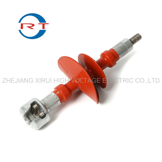 High Voltage Insulator with Ceramic/Porcelain, Glass, Composite, Polymer, Silicone Rubber