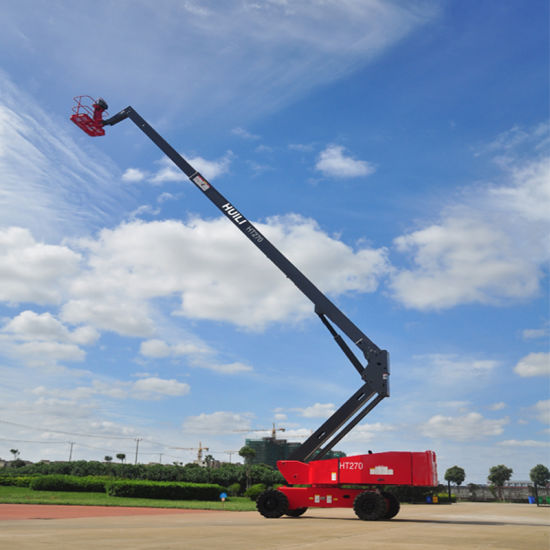 Self-Propelled Telescopic Booms Ht-Series Ht270 Working Height Max 27 Meters
