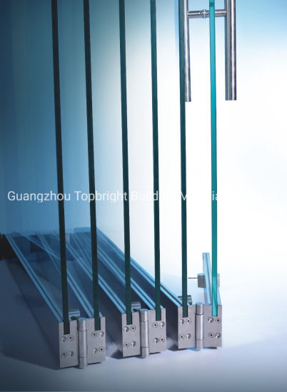 Glass Push-Pull Folding Door Fittings Frameless Tempered Glass Door GS1000A pictures & photos