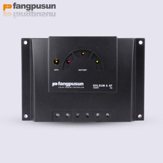 Steca Fangpusun Solsum 6.6f Solar Power Charge Controller 12V 24V 6A