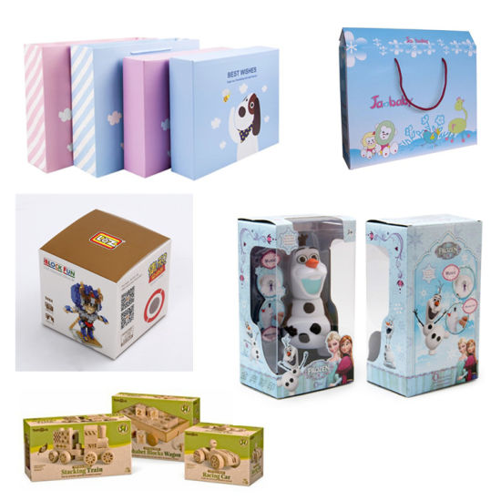 Custom Child Toys Packaging Paper Box with colorful Logo Printing pictures & photos