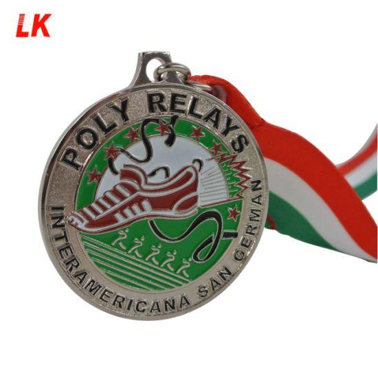Customized Souvenir Trail Running Medal Running Finisher Medal