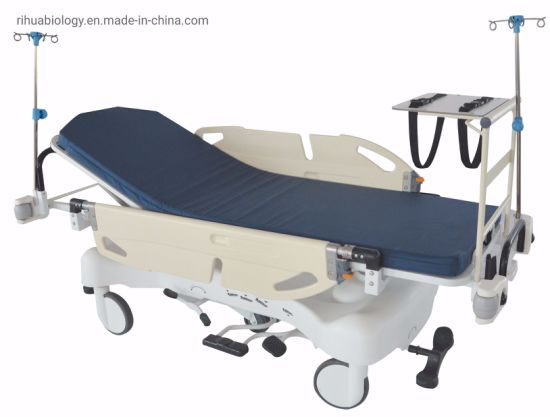 Rh-D209 Hospital Luxurious Rise and Fall Stretcher Cart