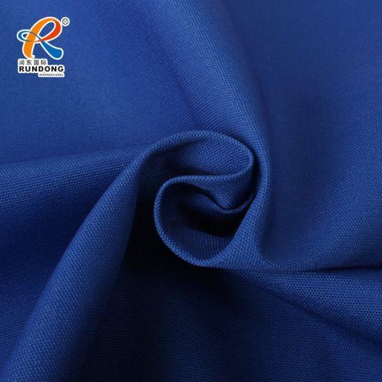 Tc 8020 Royal Blue Continuous Dyeing Plain Canvas Fabric