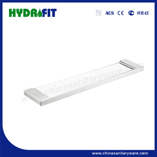 S. S304 Good Quality Brushed Glass Shelf (BAS3490)