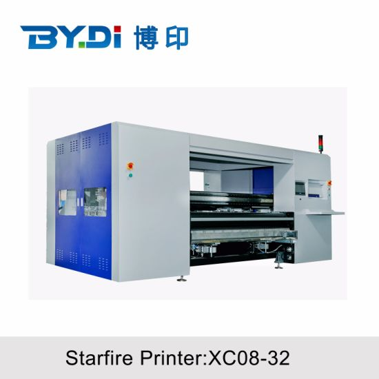 China Factory 3.2m 1600dpi Starfire1024 Cheap Direct to Garment Printer Direct Fabric Textile Printer