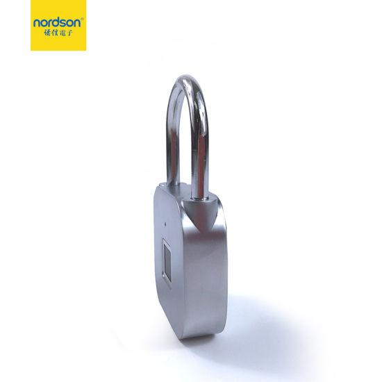 Fingerprint Padlock Door Lock Smart Biometric Cabinet Luggage Suitcase Micro USB