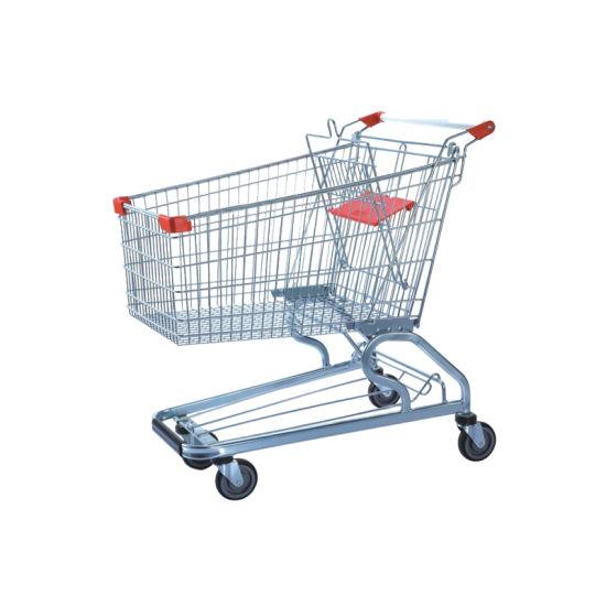 Supermarket Shopping Cart, Shopping Cart Trolley, Metal Shopping Trolley