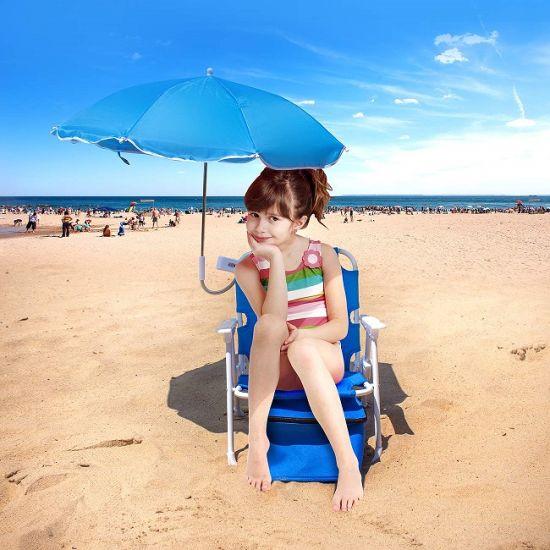 Fantastic Folding Baby Kids Chilren Beach Chair With Umbrella Camping Garden Beach Chairs Wholesale With Sunshade Customarchery Wood Chair Design Ideas Customarcherynet