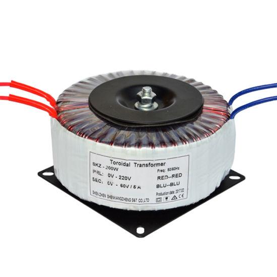 Low Voltage Step Down 12V 24V Toroidal Transformer