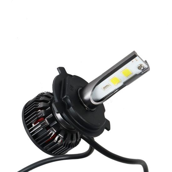 3000lm Changeable Color Head Lamp LED Auto Light RGB H3 COB Chip LED Headlight 28W Car Lamp