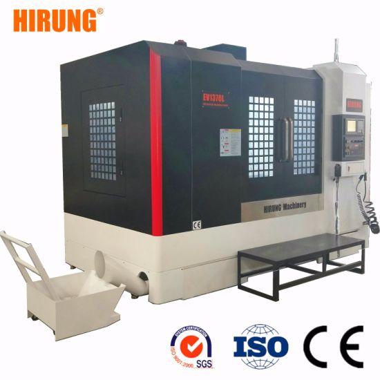 High Rigidity CNC Vertical Machining Center. CNC Precision Machining Center, CNC Machining Center in Metal Processing Machinery Parts EV1370L