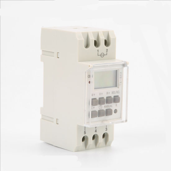 TS-GE2 30A Daylight Saving Time Programmable Time Control Switch Timer