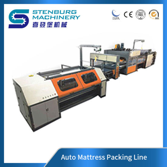 Automatic Mattress Packing Line/Packing/Compressing/Rolling