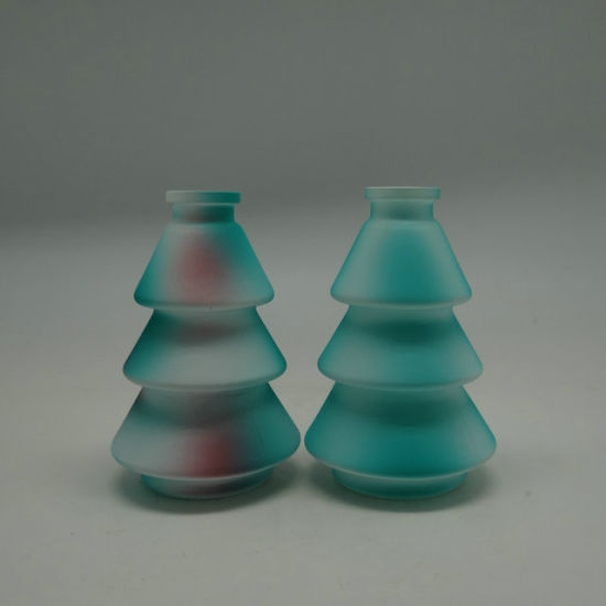 80ml Unique Design christmas Tree Shape Colorful Glass Diffuser Bottle pictures & photos