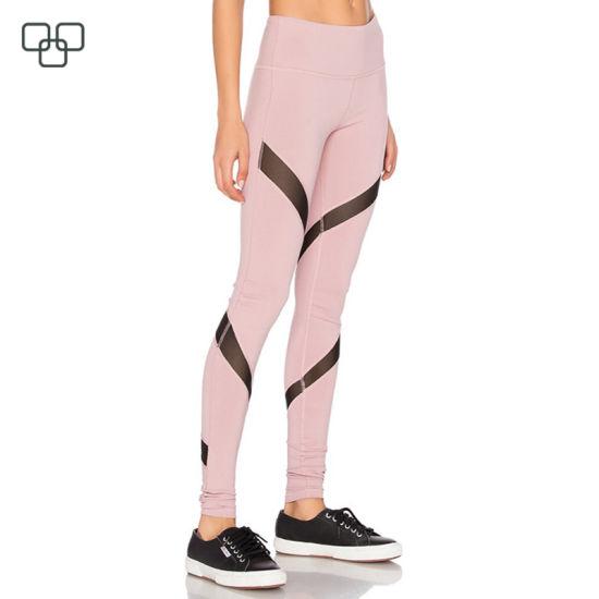 85430e2271 China High Quality Mesh Recycled Yoga Pants for Ladies - China Yoga ...