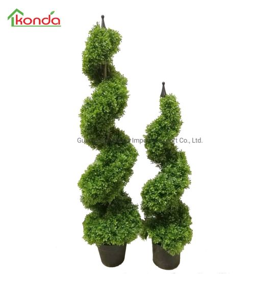 UV Protection Decorative Artificial Green Plant Wall Boxwood Hedge