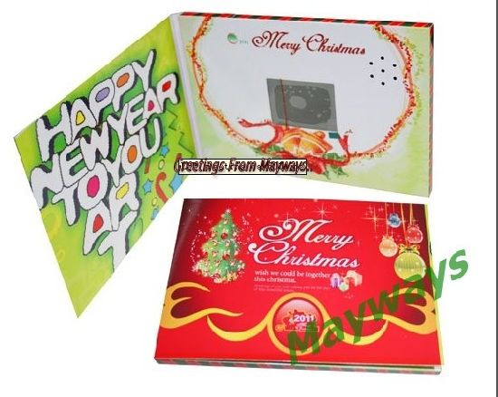 LCD Greeting Card pictures & photos
