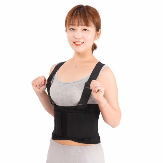 Washable Neoprene Waist Patella Protection Waist Support with Braces pictures & photos